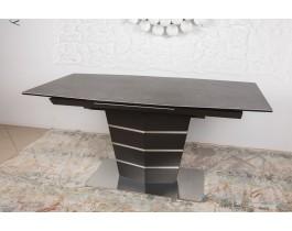 Стол обеденный BALTIMORE керамика коричневый