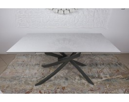 Стол обеденный LINCOLN керамика белый глянец