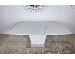 Стол обеденный MICHIGAN керамика белый