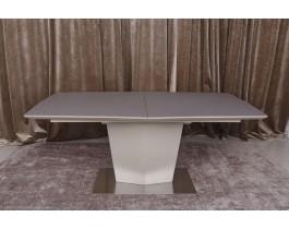 Стол обеденный MICHIGAN стеклокерамика мокко-пудра