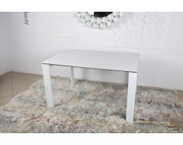 Стол обеденный BRISTOL B керамика белый