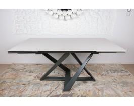 Стол обеденный FLEETWOOD NEW керамика молочный