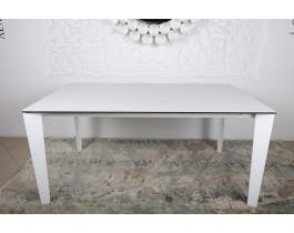 Стол обеденный LIVERPOOL керамика белый