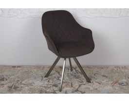 Кресло поворотное ALMERIA коричневое