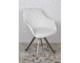 Кресло поворотное ALMERIA белое