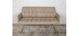 Кресло - банкетка LEON бежевый