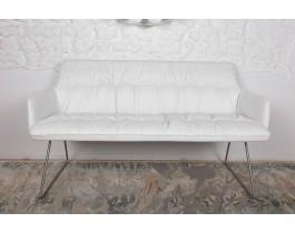 Кресло - банкетка LEON белый