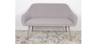 Кресло - банкетка MAIORICA светло-серый