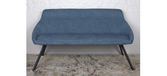 Крісло-банкетка  TOLEDO рогожка темно-блакитний