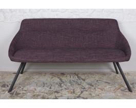 Кресло - банкетка TOLEDO рогожка баклажан