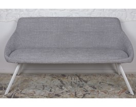 Кресло - банкетка TOLEDO рогожка светло-серый