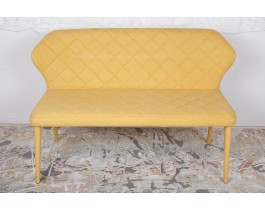 Кресло-банкетка VALENCIA желто-горячий