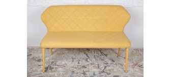 Крісло-банкетка  VALENCIA жовто-горячий