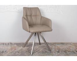 Кресло поворотное LEON бежевый