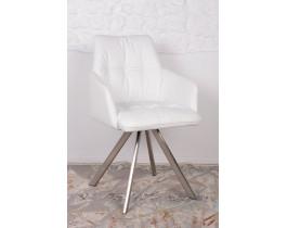 Кресло поворотное LEON белое