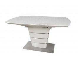 Стол обеденный ATLANTA крем глянец