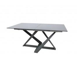 Стол обеденный FLEETWOOD керамика мокрый асфальт