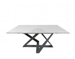 Стол обеденный FLEETWOOD керамика серый глянец