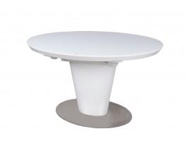 Стол обеденный GEORGIA 120 белый
