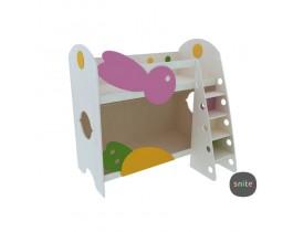 Кровать детская двухъярусная Малыш Snite