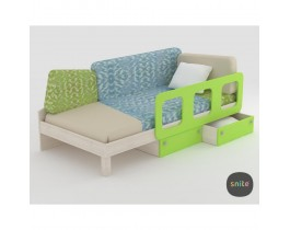 Кровать детская с ящиками ZOO Snite
